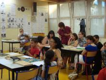 Animation scrabble à l'école de Jassans par Mamie Caco
