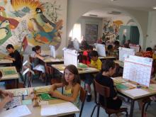 Remise des diplômes pour les enfants des écoles