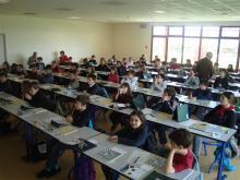 Championnat de France 2012 à ANNECY  Lycée agricole de POISY