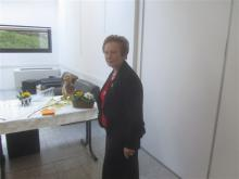 Janine Velay  a fêté ses 80 ans ! Andrézieux-Bouthéon le 26 mars 2013