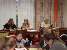 Initiation parents/enfants au scrabble duplicate Villefranche-sur-Saône le 17 novembre 2013