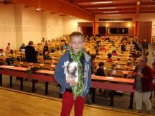 Gaston Jean-Baptiste Champion de France des Jeunes Périgueux 29 et 30 avril 2014