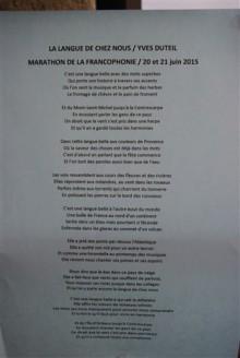 Marathon du Lyonnais Saint-Paul-en-Jarez 20 et 21 juin 2015
