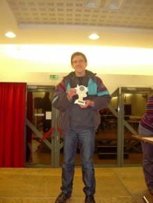 Christian Quesada Champion de l'Ain Bourg-en-Bresse le 16 janvier 2016