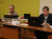 Stéphane Brunon et Sylvie Le FLoch