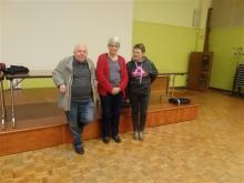 Le podium à Roanne : Rochard J, Lavaud G, Leclère C.
