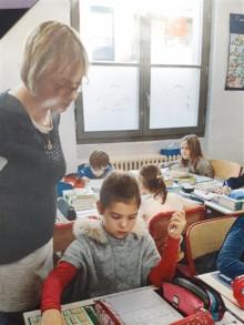 Décembre 2019 – Carole au cours Perrier à Villefranche