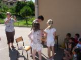 Remise des récompenses à l'école Louis Querbes de Vourles  – Jeudi 26 juin 2008.