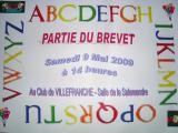 Brevet scolaire  2009 – 9 mai 2009 Villefranche