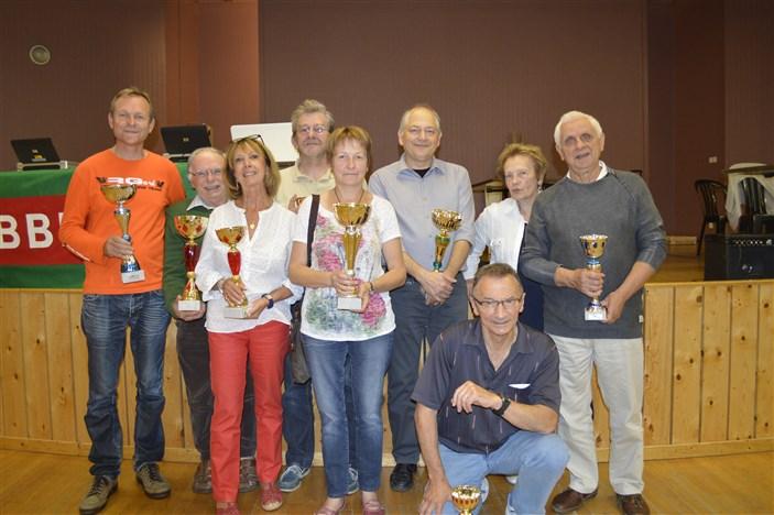 Podium Champ Loire-Hte-Loire Andrézieux 28-09-2014