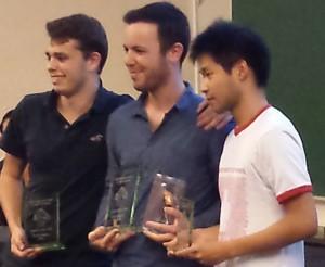 podium Espoir Blitz LLN 15