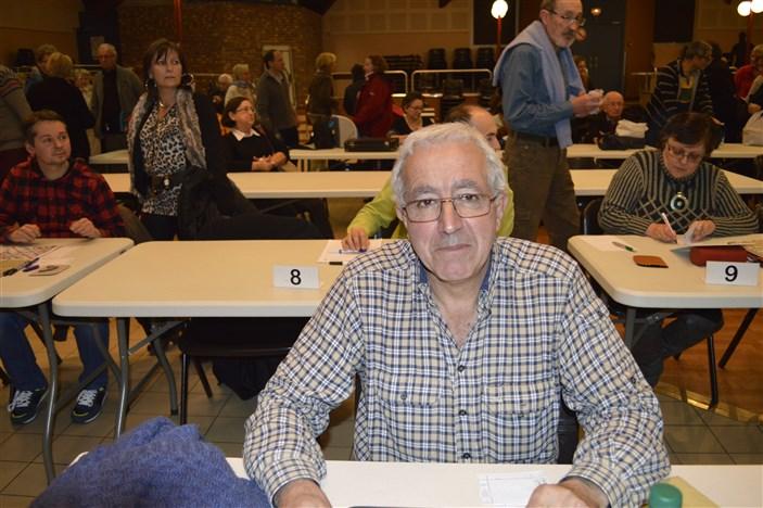 BUSSY Bernard Vainqueur Verdiams 28-11-2015