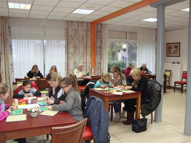 Initiation au scrabble Parents-enfants  Villefranche 17 novembre 2013