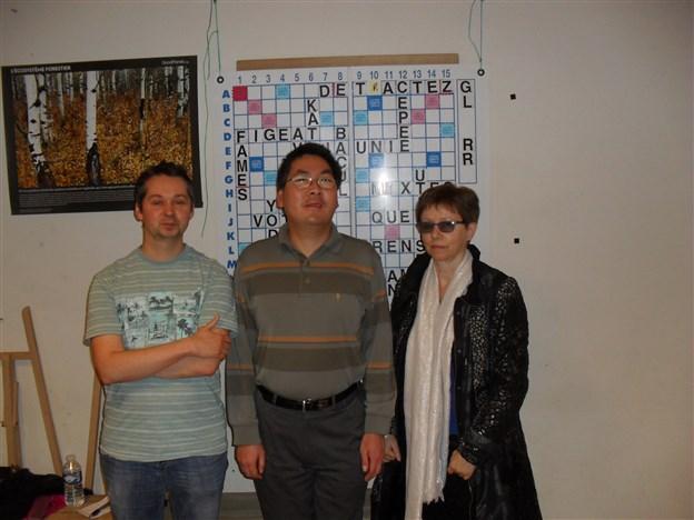 Podium Saint-Quentin-Fallavier Challenge Handicap 15-11-2014